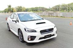 Modelo 2015 del STI 2014 de Subaru WRX Fotos de archivo