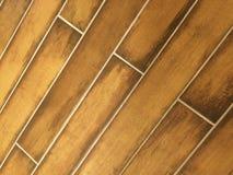 Modelo del suelo de baldosas de Brown Fotografía de archivo libre de regalías
