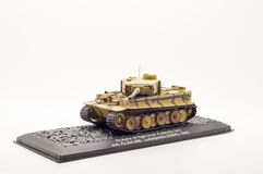 Modelo del tanque aislado Fotografía de archivo
