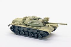 Modelo del tanque de la Segunda Guerra Mundial Fotografía de archivo