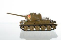 Modelo del tanque soviético Foto de archivo libre de regalías