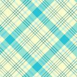 Modelo del tartán en ciánico y blanco Textura para la tela escocesa, manteles, ropa, camisas, vestidos, papel, lecho, mantas, edr libre illustration