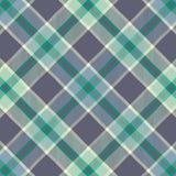 Modelo del tartán en violeta y verde Textura para la tela escocesa, manteles, ropa, camisas, vestidos, papel, lecho, mantas, edre ilustración del vector