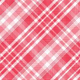 Modelo del tartán, rojo y blanco de la tela escocesa inconsútil Textura para la tela escocesa, manteles, ropa, camisas, vestidos, libre illustration