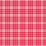 Modelo del tartán, rojo y blanco de la tela escocesa Textura para la tela escocesa, manteles, ropa, camisas, vestidos, papel, lec libre illustration