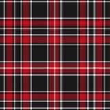Modelo del tartán, rojo y negro de la tela escocesa inconsútil Textura para la tela escocesa, manteles, ropa, camisas, vestidos,  libre illustration