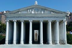 Modelo del templo de Artemis imagen de archivo