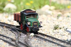 Modelo del tren Fotos de archivo