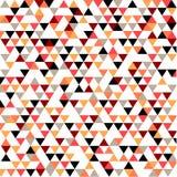 Modelo del triángulo Imagen de archivo libre de regalías