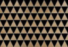 Modelo del triángulo de la acuarela imágenes de archivo libres de regalías