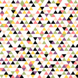 Modelo del triángulo inconsútil Fotografía de archivo