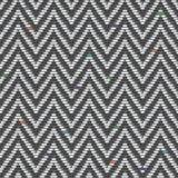 Modelo del tweed de la raspa de arenque en repeticiones de los grises Imágenes de archivo libres de regalías