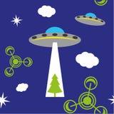 Modelo del UFO Imagenes de archivo