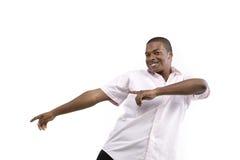Modelo del varón del afroamericano Fotografía de archivo libre de regalías