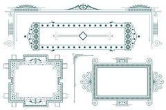 Modelo del vector Anuncios, aviador, web, boda y otra Imagen de archivo libre de regalías