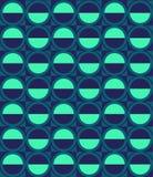 Modelo del vector con elipse y hemisferio Imagen de archivo libre de regalías