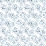 Modelo del vector con las flores estilizadas Impresión floral inconsútil, fondo de la naturaleza, textura de la materia textil Imagen de archivo libre de regalías