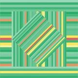 Modelo del vector con los cuadrados alineados Textura verde abstracta libre illustration