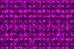 Modelo del vector del corazón púrpura Imagenes de archivo