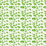 Modelo del vector de arbustos Forra la forma simple Fotos de archivo