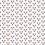 Modelo del vector de la mariquita La textura sin fin se puede utilizar para el papel pintado, imprimiendo en tela, papel, scrapbo Imágenes de archivo libres de regalías