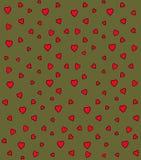Modelo del vector del corazón Fotografía de archivo libre de regalías