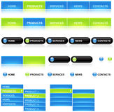 Modelo del Web Fotos de archivo