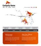 Modelo del Web site Fotos de archivo libres de regalías