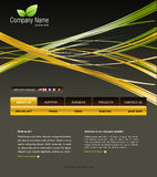 Modelo del Web site Imagenes de archivo