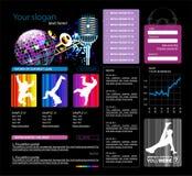Modelo del Web site,   Foto de archivo libre de regalías