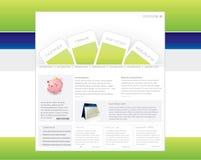 Modelo del Web site Foto de archivo libre de regalías