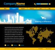 Modelo del Web site Imagen de archivo
