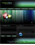 Modelo del Web site del asunto Imagen de archivo libre de regalías