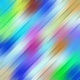 Modelo diagonal de la falta de definición Imagen de archivo