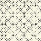 Modelo diagonal inconsútil de la raya Vagos geométricos monocromáticos del vector Fotografía de archivo libre de regalías
