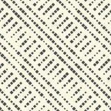 Modelo diagonal inconsútil de la raya Vector Geometr blanco y negro Fotos de archivo libres de regalías