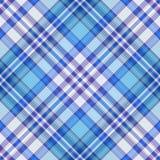 Modelo diagonal inconsútil del azul, violeta y blanco Imagen de archivo libre de regalías