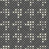 Modelo diagonal inconsútil del pixel Vector Geometri blanco y negro Fotos de archivo libres de regalías