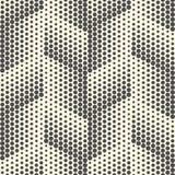 Modelo diagonal inconsútil del pixel Vector Geometri blanco y negro Imagenes de archivo