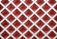 Modelo diagonal rojo Imagen de archivo libre de regalías