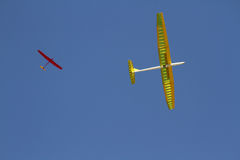 Modelo do avião Imagem de Stock Royalty Free