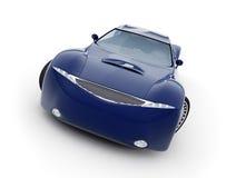 Modelo do carro 3d do conceito. Foto de Stock
