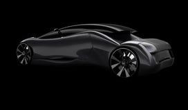 Modelo do carro 3d do conceito Imagens de Stock