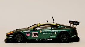 Modelo do 1:43 de BBurago DBR9 GT3 Fotografia de Stock Royalty Free
