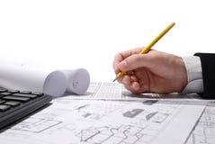 Modelo do desenho Imagem de Stock