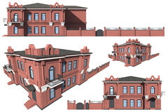 Modelo do edifício Fotografia de Stock Royalty Free