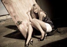 Modelo do encanto Imagem de Stock Royalty Free
