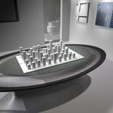 Modelo do escritório Imagem de Stock