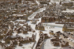 Modelo do Hanover destruído Foto de Stock