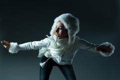 Modelo do inverno Foto de Stock Royalty Free